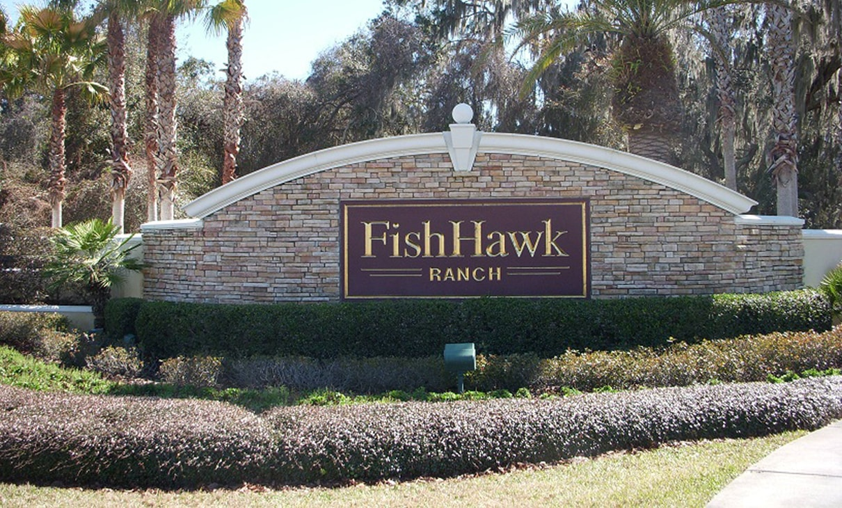 Fishhawk Main Entrance